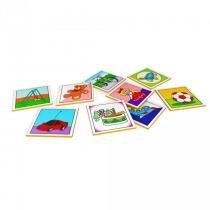 Jogo da Memória Meus Brinquedos em MDF com 40 Peças 3008 - Carlu - Carlu