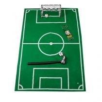 Jogo de Banheiro Futebol Rei do Gol - Verde - Único - Gorila Clube