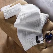 Jogo de Banho Elegance 05 Peças - Branco - Enxovais Aquarela