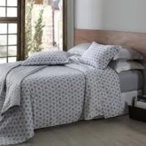 374ddd1142 Jogo de Cama 200 Fios Home Design Queen Atrium Cinza Corttex -
