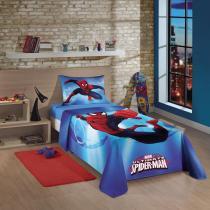 Jogo de Cama Estampado Spider Man Ultimate 3 Peças - 3 Peças - Lepper