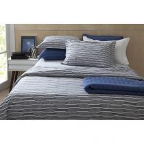 Jogo de Cama/Lençol King Size 200 Fios Percal - Corttex Home Design 11731-3977 4 Peças