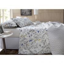 Jogo de Cama/Lençol King Size 200 Fios Percal - Corttex Home Design 11731-3978 4 Peças