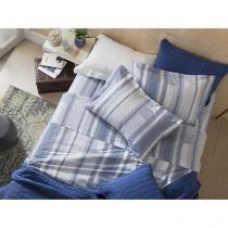 Jogo de Cama/Lençol King Size 200 Fios Percal - Corttex Home Design 11731-3979 4 Peças