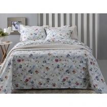 Jogo de Cama/Lençol King Size 200 Fios Percal - Corttex Home Design 11731-4148 4 Peças