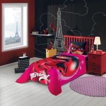 Jogo de cama Miraculous: As Aventuras de Ladybug 3 Peças 059101  Lepper - Lepper