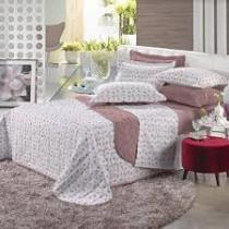 Jogo de cama queen 2,50x2,70m blend elegance camafeu - Altenburg
