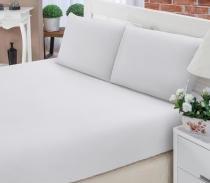 Jogo de cama queen 3 peças - percal 200 fios - Fassini têxtil