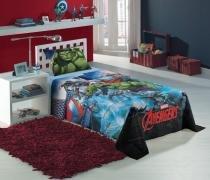 Jogo de Cama Solteiro 3 peças Avengers 1,50x2,10 Lepper -