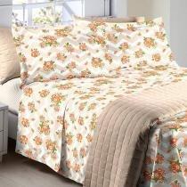 Jogo de cama Solteiro Color Art  Corttex - Romano - Corttex