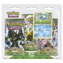 Jogo de Cartas Pokémon Estampas Ilustradas - Fusão de Destinos Copag 16 Cartas