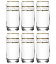 Jogo de Copos de Vidro Adora Sultan Long Drink 6 Peças 390ml - Vitrizi -
