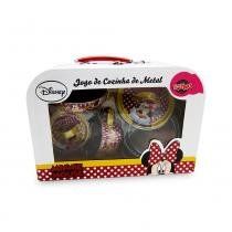 Jogo de cozinha de Metal - Minnie - Toyng - Disney - Toyng