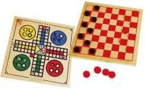 Jogo de dama e ludo - CARIMBRAS