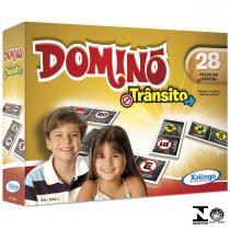 Jogo De Dominó Trânsito 28 Peças 5252.1 Xalingo - Xalingo
