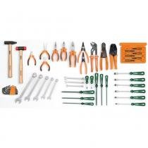 Jogo de ferramentas para eletrônica 50 peças - Tramontina PRO - Tramontina PRO