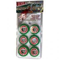 Jogo de Futebol de Botão - com 10 Botões - Klopf 34098