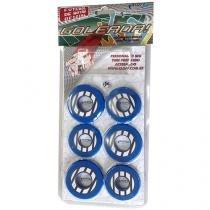 Jogo de Futebol de Botão - com 10 Botões - Klopf 34099
