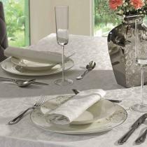 Jogo de guardanapos baroque blanc copa  cia 100 algodão branco 4 peças - Copa  cia