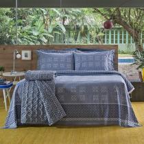 Jogo de Lençol Solteiro King 100% Algodão - Santista Home Design Luck