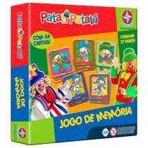 Jogo de Memória Patati Patatá - Estrela 54 Cartas