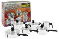 Jogo de Panelas Cristal 6 Peças Super Resistente Polido - Marlux - Marlux