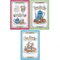 Jogo de Pano de Copa Dohler Tea Sweets 3 Peças - Dohler