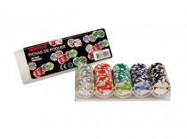 Jogo de Poker Profissional 100 Fichas - Incasa FN0003