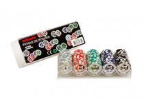 Jogo de Poker Profissional 100 Fichas - Incasa FN0005