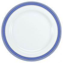 Jogo de Pratos Redondo de Sobremesa Porcelana - 6 Peças Schmidt Paula