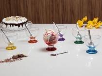 Jogo de Sobremesa Vidro 12 Peças - Ruvolo Summer