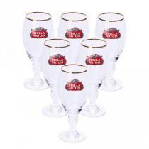 Jogo de taças para cerveja stella artois vidro 250ml 6 peças - Bololô