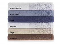 Jogo de toalha 2 peças Caprice Karsten - Branco -