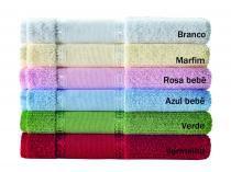 Jogo de toalha para bordar 2 peças Ligia Karsten - Branco -