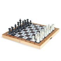 Jogo de Xadrez Adaptado em Braille - 1780 Carlu - Carlu