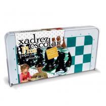 Jogo de Xadrez Escolar Plus Plástico 07843 - Xalingo - Xalingo