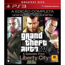 Jogo GTA Grand Theft Auto - Episodes From Liberty City - PS3 - Sony ps3