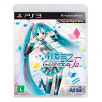 Jogo Hatsune Miku: Project DIVA F 2nd - PS3 - Sega