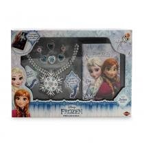 Jogo/Kit de Beleza Diária Frozen - Toyng -