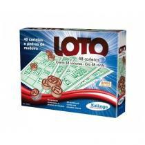 Jogo loto 48 cartoes xalingo 5294.3 - Xalingo