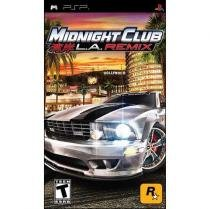 Jogo Midnight Club: Los Angeles Remix - PSP - TAKE 2