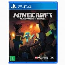 Jogo Minecraft Ps4 - Mojang Specifications, Microsoft, 4J Studios