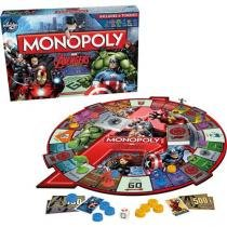 Jogo Monopoly Avengers Tabuleiro - Hasbro