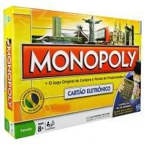 Jogo Monopoly Cartão Eletrônico - Hasbro - Hasbro
