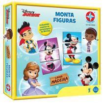Jogo Monta Figuras Disney Junior - Estrela