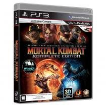 Jogo - mortal kombat komplete edition - ps3 - Warner bros