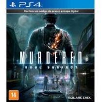 Jogo Murdered: Soul Suspect Ps4 - Square Enix