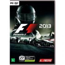Jogo p/ PC Fórmula 1 2013 Edição Clássica DVD Mídia Física - Codemasters