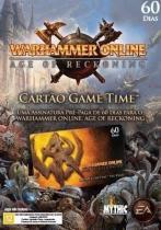 Jogo P/ PC Warhammer Online - Expansão Game Time de 60 Dias Lacrado DVD Midia Fisica - Ea