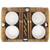 Jogo para comida oriental kyoto 16 peças -